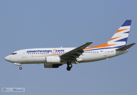 OK-SWT, Boeing 737-700, Smartwings