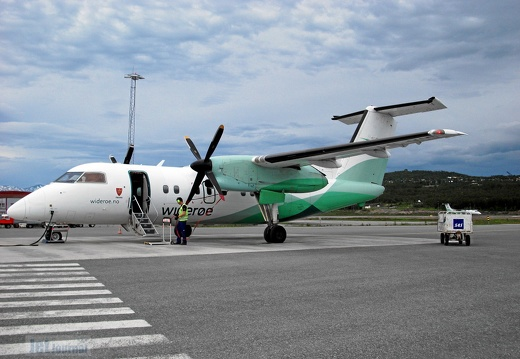 LN-WIG DHC-8 103 Widerøe TOS