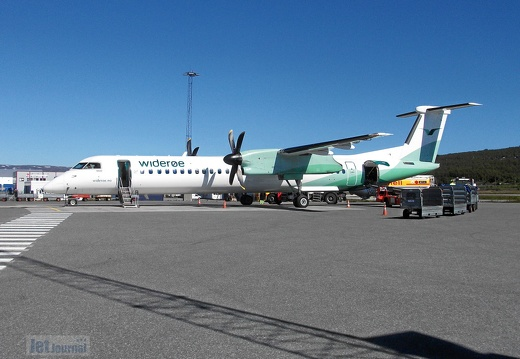 LN-WDL DHC-8 402 Widerøe TOS