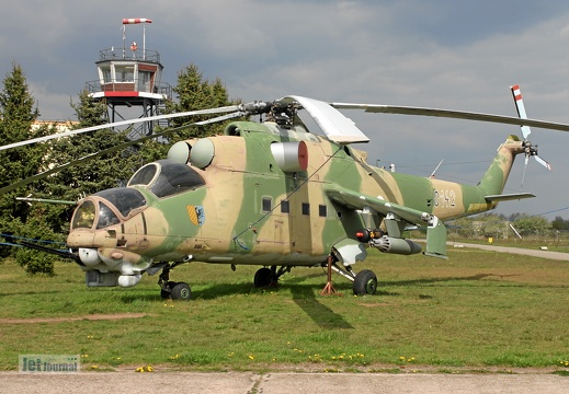 0142 ex. Czech Air Force, Mi-24D