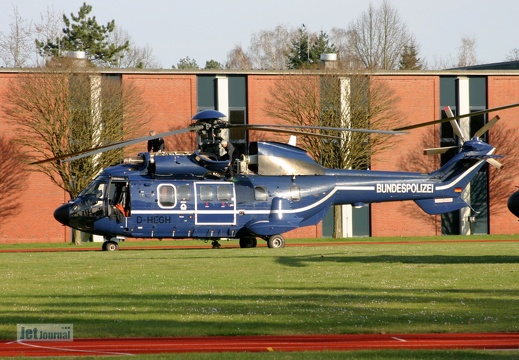 D-HEGH, AS-332L1 Super Puma Bundespolizei