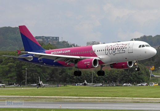 HA-LWE A320-232 Wizz Air