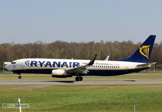 EI-EKN, Boeing 737-8AS, Ryanair