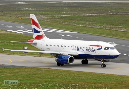 G-EUPG, Airbus A319, British Airways