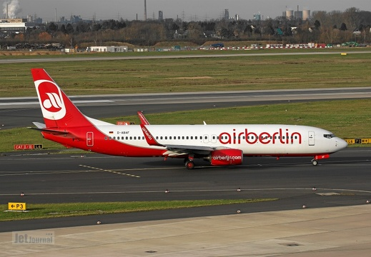D-ABAF B737-86J Air Berlin DUS