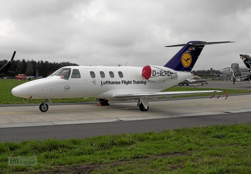D-ILHD Cessna 525 Lufthansa Flight Training