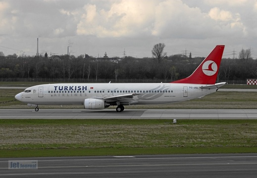 TC-JGL B737-8F2 Turkish Airlines