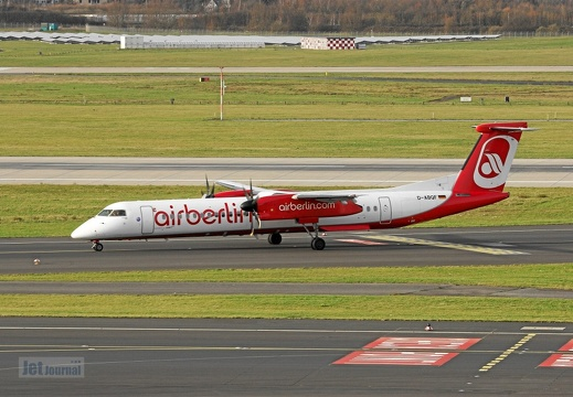 D-ABQF DHC-8 400 LGW Air Berlin DUS