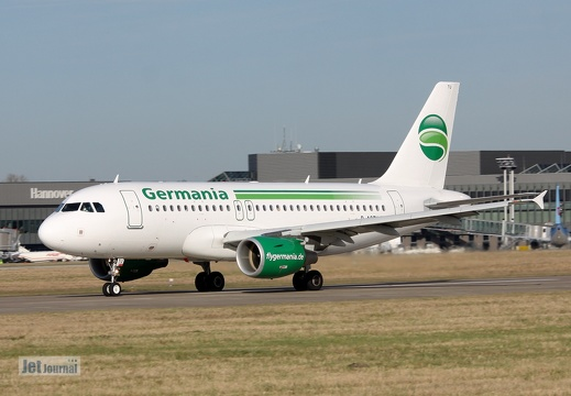 D-ASTU, A319 Germania