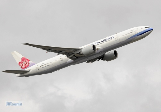 B-18055, Boeing B777-300ER China Airlines