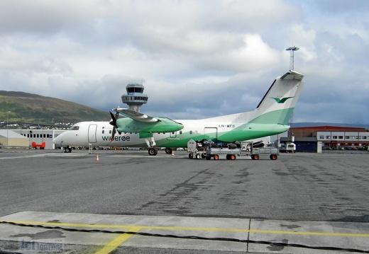 LN-WFS DHC-8 311B Widerøe TOS