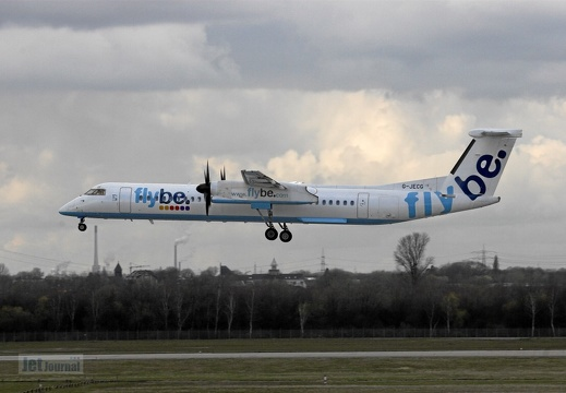 G-JECG DHC-8-402 Flybe