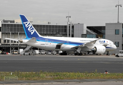 JA828A B787-8 All Nippon Airways