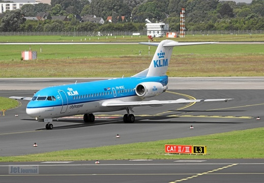 PH-WXC F70 KLM Cityhopper