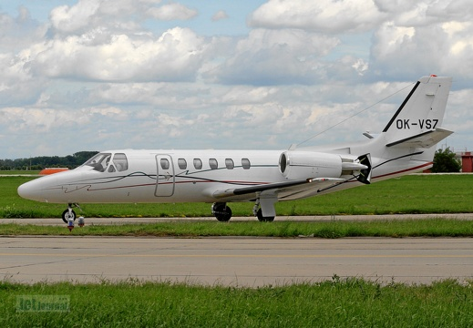 OK-VSZ Cessna 550B Citation Bravo