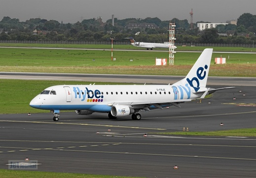 G-FBJE Embraer 175STD flybe