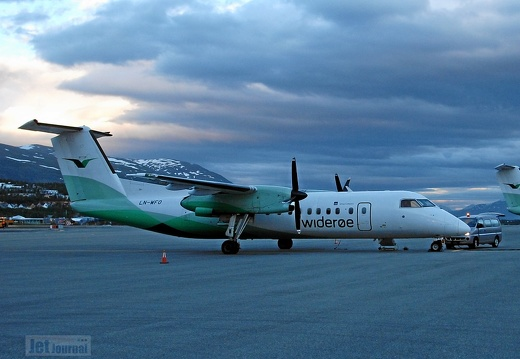 LN-WFO DHC-8 311 Widerøe TOS