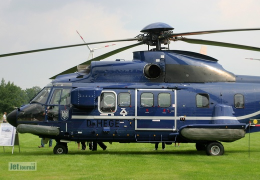 D-HEGE, AS-332L1 Super Puma Bundespolizei