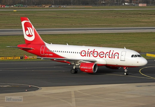 D-ABGK A319-112 Air Berlin DUS
