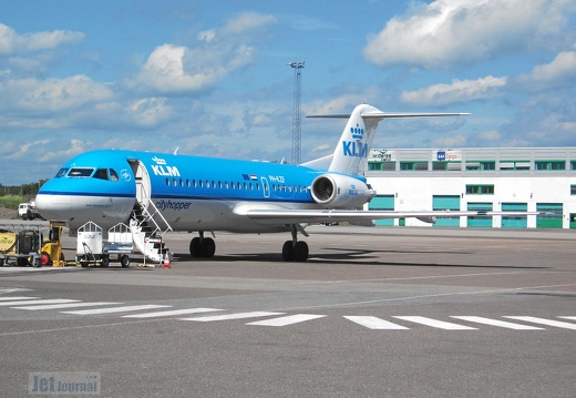 PH-KZF F-28 KLM Cityhopper TRF