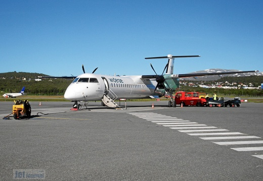 LN-WDH DHC-8 402 Widerøe TOS