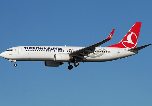 TC-JGU B737-8F2 Turkish Airlines DUS