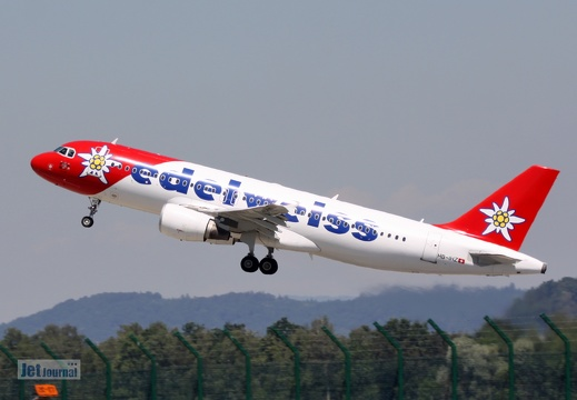 HB-IHZ, Airbus A320-214, Edelweiss