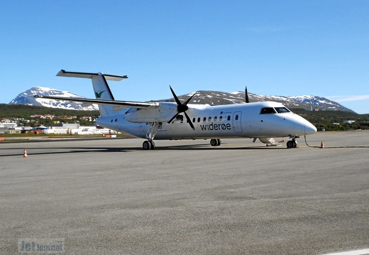 LN-WFD DHC-8 311B Widerøe TOS