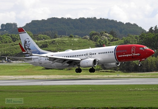 LN-DYD B737-8JP Norwegian Air Shuttle
