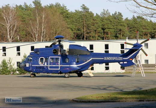 D-HEGL, AS-332L1 Super Puma Bundespolizei
