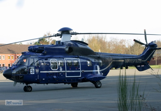 D-HEGZ, AS-332L1 Super Puma Bundespolizei