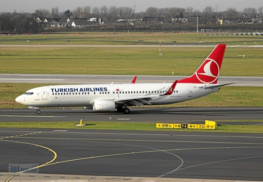 TC-JHM B737-8F2 Turkish Airlines DUS