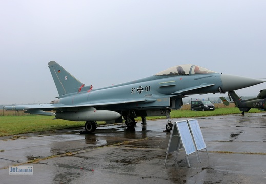 31+01, Eurofighter Typhoon, Deutsche Luftwaffe
