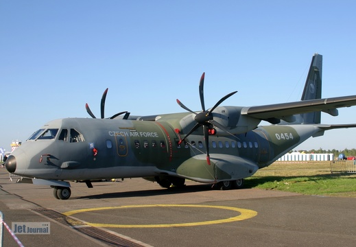 0454, CASA C-295M, Czech Air Force