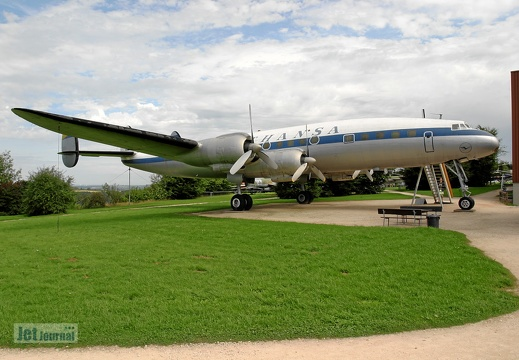D-ALIN Lockheed L1049G Super Constellation Lufthansa Pic2