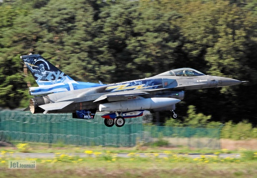 505, F-16C, Hellenic Air Force