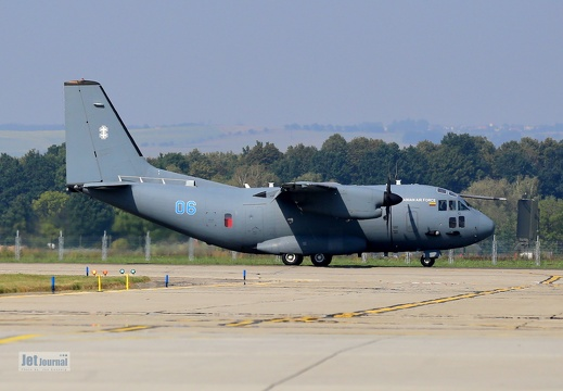 06 blue, C-27J Spartan, Lithuanian Air Force