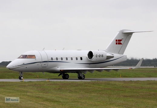 C-215, Bombardier CL-604 Challenger, Danish Air Force