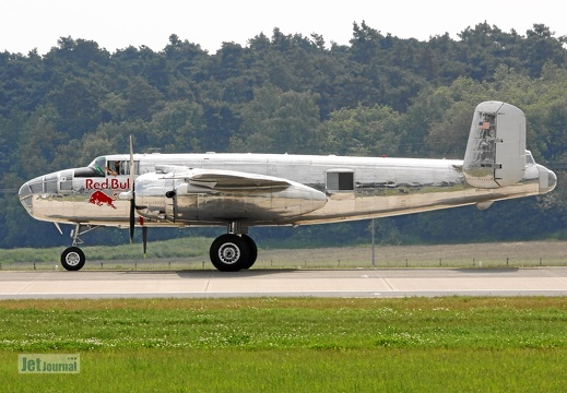 N6123C, North American B-25J Mitchell