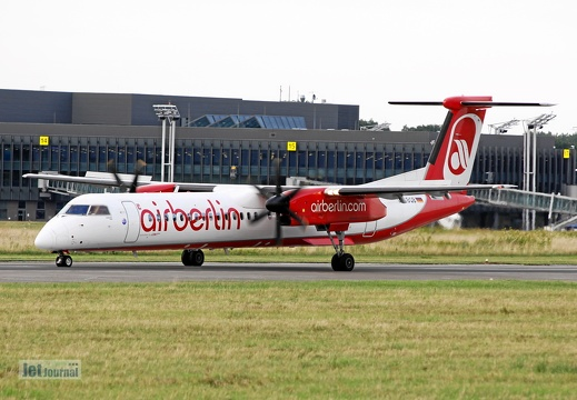 D-ABQB, Bombardier Dash 8 Q400, Air Berlin