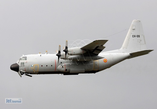 CH-09, C-130H, Belgian Air Component