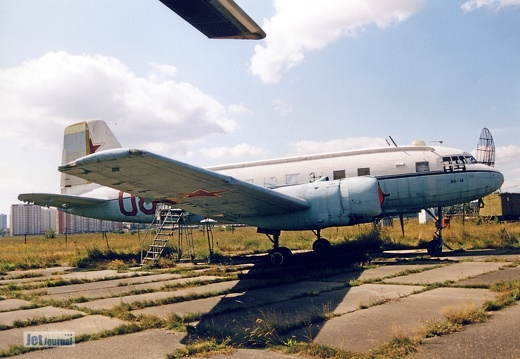 08 rot, Il-14T, Soviet Air Force