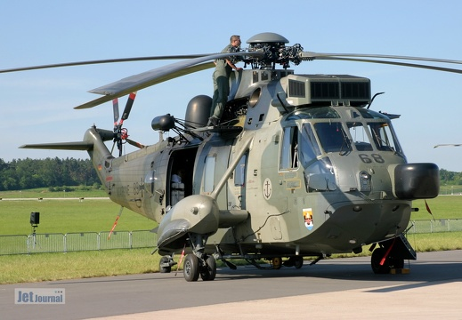 89+68, Sea King Mk.41, Deutsche Marine