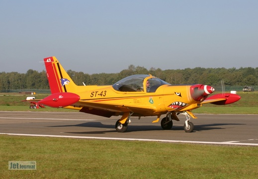 ST-43, SF-260D, Belgian Air Force