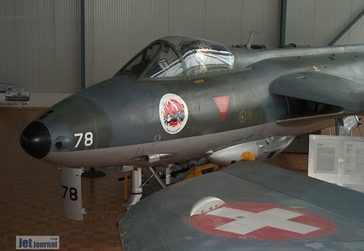 J-4078 Hawker Hunter F Mk58 Pic4