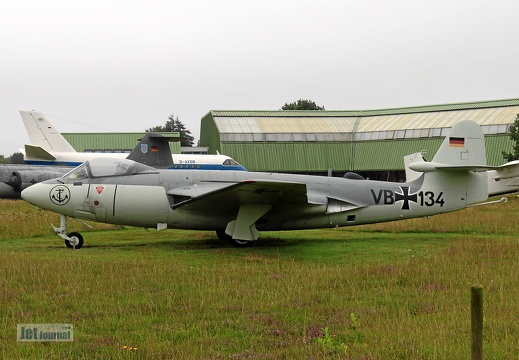 VB+134, Hawker Sea Hawk