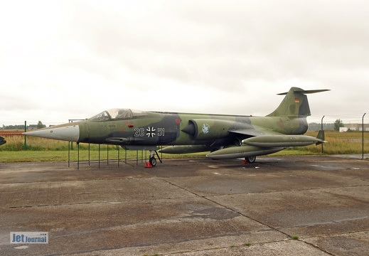 F-104G Starfighter, 26+51 ex. Luftwaffe