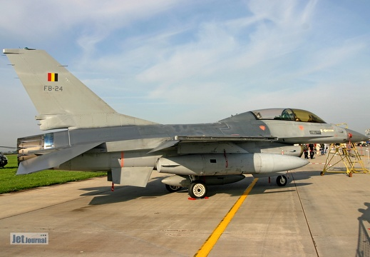 F-16BM, Belgian Air Force, FB-24