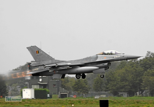FA-103, F-16AM Belgian Air Force