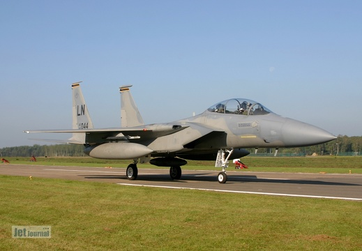 84-0044, F-15D, U.S. Air Force